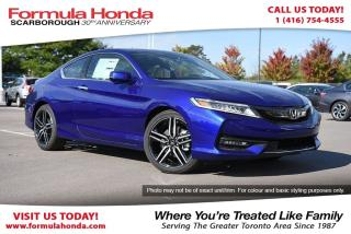 Used 2017 Honda Accord Touring-Demo with only 351 KM! for sale in Scarborough, ON