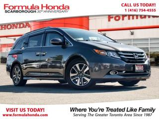 Used 2017 Honda Odyssey Touring-Demo with only 16712 KM for sale in Scarborough, ON
