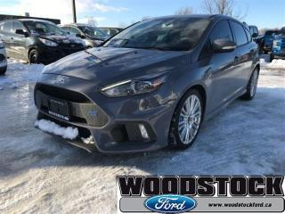 Used 2017 Ford Focus RS RS 2 Sets OF Tires, Only 5500KMS for sale in Woodstock, ON