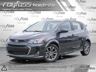 Used 2017 Chevrolet Sonic LT. LOW KM. NO ACCIDENTS.REMOTE START for sale in Woodbridge, ON
