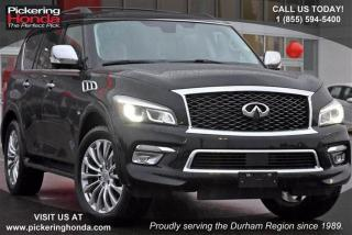 Used 2015 Infiniti QX80 7-Passenger for sale in Pickering, ON