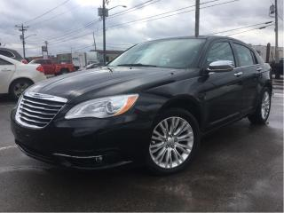 Used 2014 Chrysler 200 Limited LEATHER MOONROOF NAV V6 for sale in St Catharines, ON