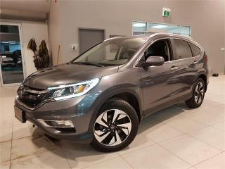 Used 2016 Honda CR-V TOURING-AWD-NAVIGATION-CAM-LEATHER-ROOF-ONLY 80KM for sale in York, ON