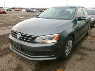 Used 2016 Volkswagen Jetta Sedan TRENDLINE-AUTO-CAMERA-HEATED SEATS-ONLY 68KM for sale in York, ON