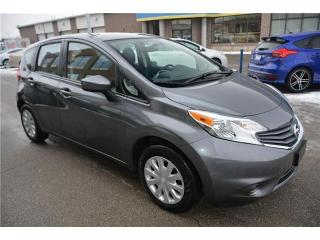 Used 2016 Nissan Versa Note 1.6 S-AUTO-REAR CAM-BLUETOOTH-ONLY 57KMV for sale in York, ON