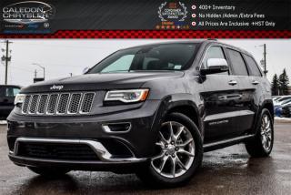 Used 2016 Jeep Grand Cherokee Summit|4x4|Navi|DVD|Pano Sunroof|Adaptive Cruise Control w/Stop|20