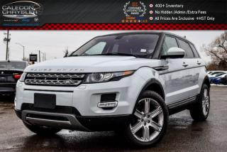 Used 2015 Land Rover Evoque Pure Plus|AWD|Navi|Pano Sunroof|Bluetooth|Backup Cam|Leather|19
