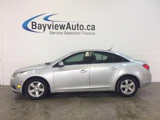Used 2012 Chevrolet Cruze - TURBO|REM START|ALLOYS|A/C|BLUETOOTH|CRUISE! for sale in Belleville, ON