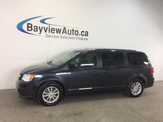 Used 2013 Dodge Grand Caravan - ALLOYS|STOW 'N GO|DVD|REV CAM|UCONNECT|CRUISE! for sale in Belleville, ON