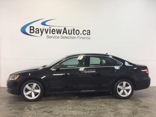 Used 2013 Volkswagen Passat COMFORTLINE- 2.5L|ALLOYS|HTD LTHR|SUNROOF|LOW KM! for sale in Belleville, ON