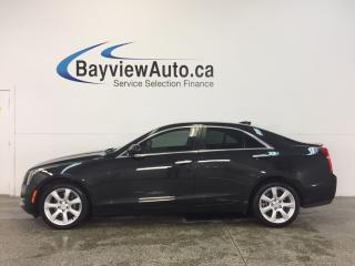 Used 2015 Cadillac ATS - TURBO|AWD|REM STRT|HTD LTHR|REV CAM|BLUETOOTH! for sale in Belleville, ON