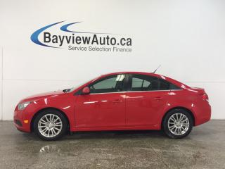 Used 2014 Chevrolet Cruze - TURBO|6 SPEED|CHROMES|A/C|BLUETOOTH|CRUISE! for sale in Belleville, ON
