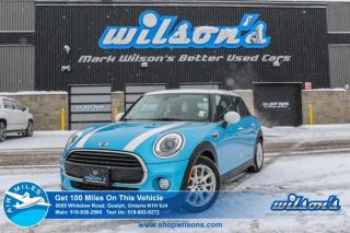 Used 2016 MINI Cooper 5-DOOR HATCHBACK! LEATHER! NAVIGATION! PANORAMIC ROOF! REAR CAMERA! HEATED SEATS! POWER PKG! ALLOYS! for sale in Guelph, ON