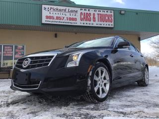 Used 2014 Cadillac ATS 2.0L Turbo Luxury for sale in Bolton, ON