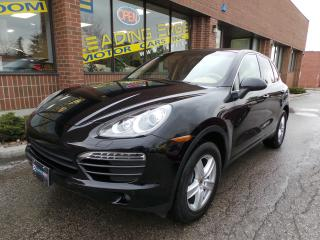 Used 2012 Porsche Cayenne Base Navigation, Reverse Camera, Heated and Ventilated Seats for sale in Woodbridge, ON