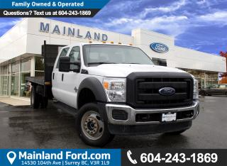 Used 2016 Ford F-550 Chassis XL ACCIDENT FREE for sale in Surrey, BC