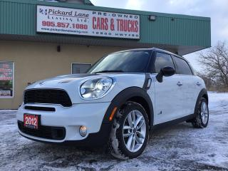 Used 2012 MINI Cooper Countryman S for sale in Bolton, ON