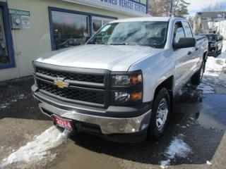 Used 2014 Chevrolet Silverado 1500 WORK READY LS EDITION 6 PASSENGER 4.3L - V6.. REAR-WHEEL DRIVE.. QUAD-CAB.. SHORTY.. AUX/USB INPUT.. KEYLESS ENTRY.. TOW SUPPORT.. for sale in Bradford, ON