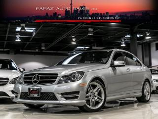 Used 2014 Mercedes-Benz C350 AMG|NAVI|BLINDSPOT|REAR CAM|PANO|LOADED for sale in North York, ON