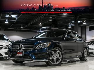 Used 2015 Mercedes-Benz C 300 AMG|NAVI|BLINDSPOT|PANO|REAR CAM|LOADED for sale in North York, ON