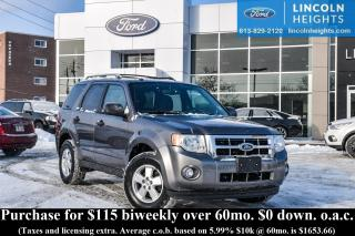 Used 2012 Ford Escape XLT 4WD for sale in Ottawa, ON