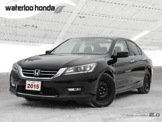 Used 2015 Honda Accord EX-L Sold Pending Customer Pick Up...200,000 km Warranty! Bluetooth, Back Up Camera for sale in Waterloo, ON