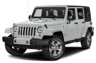 New 2018 Jeep Wrangler JK Unlimited Sahara for sale in Surrey, BC
