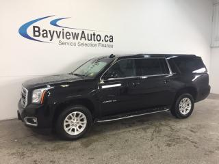 Used 2017 GMC Yukon XL SLE- 4x4|REM STRT|REV CAM|INTELLILINK|PWR TRUNK! for sale in Belleville, ON