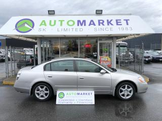 Used 2003 Nissan Altima 3.5 SE LEATHER SUNROOF FINANCE IT!! for sale in Langley, BC