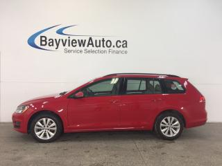 Used 2015 Volkswagen Golf COMFORTLINE- TDI|HITCH|PANOROOF|HTD LTHR|REV CAM! for sale in Belleville, ON