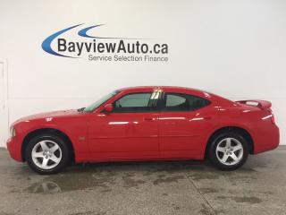 Used 2010 Dodge Charger SXT- 3.5L|ALLOYS|LEATHER|CRUISE|LOW KM'S! for sale in Belleville, ON