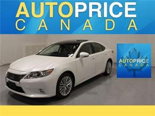 Used 2014 Lexus ES 350 ULTRA PREMIUM NAVI AND MORE for sale in Mississauga, ON