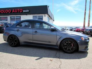 Used 2008 Mitsubishi Lancer Evolution Evolution MR Automatic CERTIFIED 2 YEARS WARRANTY for sale in Milton, ON