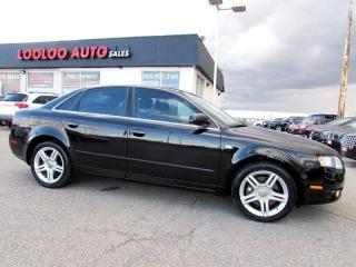 Used 2006 Audi A4 2.0T AWD SUNROOF LEATHER for sale in Milton, ON