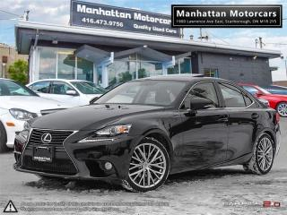 Used 2014 Lexus IS 250 AWD LUXURY PKG |CAMERA|ROOF|PHONE|FAC.WARRANTY for sale in Scarborough, ON