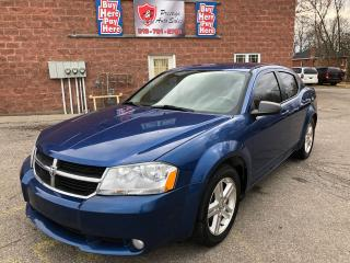 Used 2010 Dodge Avenger SXT/2.4L/CERTIFIED/WARRANTY INCLUDED for sale in Cambridge, ON
