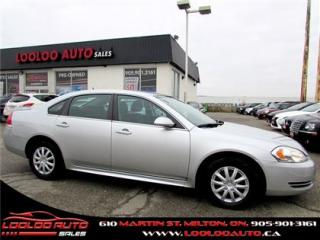 Used 2010 Chevrolet Impala LS Automatic AC for sale in Milton, ON