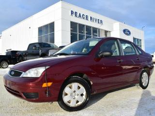 Used 2007 Ford Focus SE 4DR SEDAN for sale in Peace River, AB
