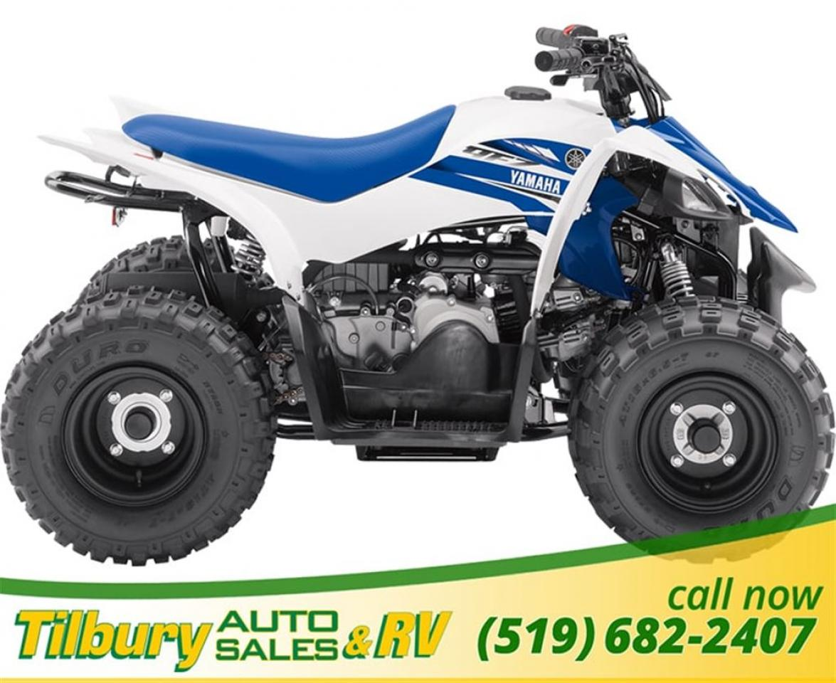 2018 Yamaha YFZ50 (Raptor 50). 50cc, SOHC, 2-valve, 4-stroke