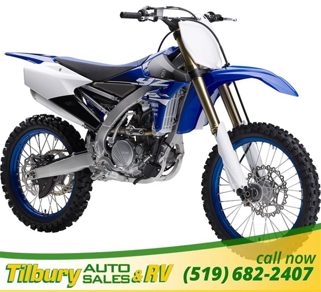 2018 Yamaha YZ250F 250cc, DOHC, 4-valve engine.
