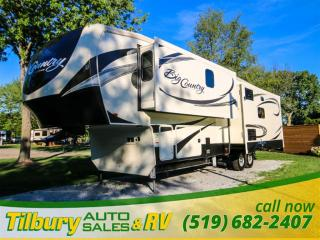 New 2017 HEARTLAND Big Country 345 OTS FIFTH-WHEEL for sale in Tilbury, ON