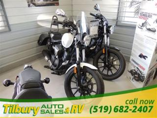 New 2014 Yamaha Bolt Motorcycle Financing With Low Monthly Payments OAC for sale in Tilbury, ON