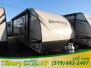 New 2016 Gulf Stream Gulf Breeze 19FMB SVT **WEEKLY PAYMENTS AS LOW AS $36** for sale in Tilbury, ON