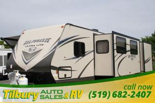 New 2017 Gulf Stream Gulf Breeze 30DCT TRAVEL-TRAILER OUTDOOR KITCHEN for sale in Tilbury, ON