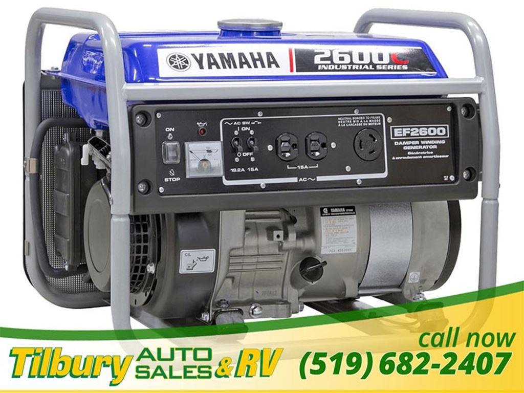 Yamaha EF2600C Generator