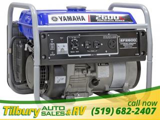 New 1900 Yamaha EF2600C Generator Generator! for sale in Tilbury, ON