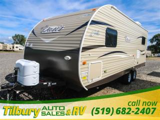 New 2018 Forest River SHASTA OASIS 21CK TRAVEL-TRAILER for sale in Tilbury, ON