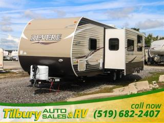 New 2018 Forest River SHASTA REVERE 27BH TRAVEL-TRAILER for sale in Tilbury, ON