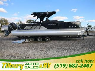 Used 2016 AVALON LUXURY & SPEED Ambassador Rear Lounge 60 MPH TRI-TOON TWIN 300S for sale in Tilbury, ON