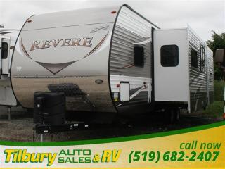 New 2017 Forest River SHASTA REVERE 33TS TRAVEL-TRAILER for sale in Tilbury, ON